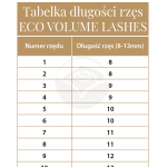 Extension Ciglia ECO Volume Lashes D0,10